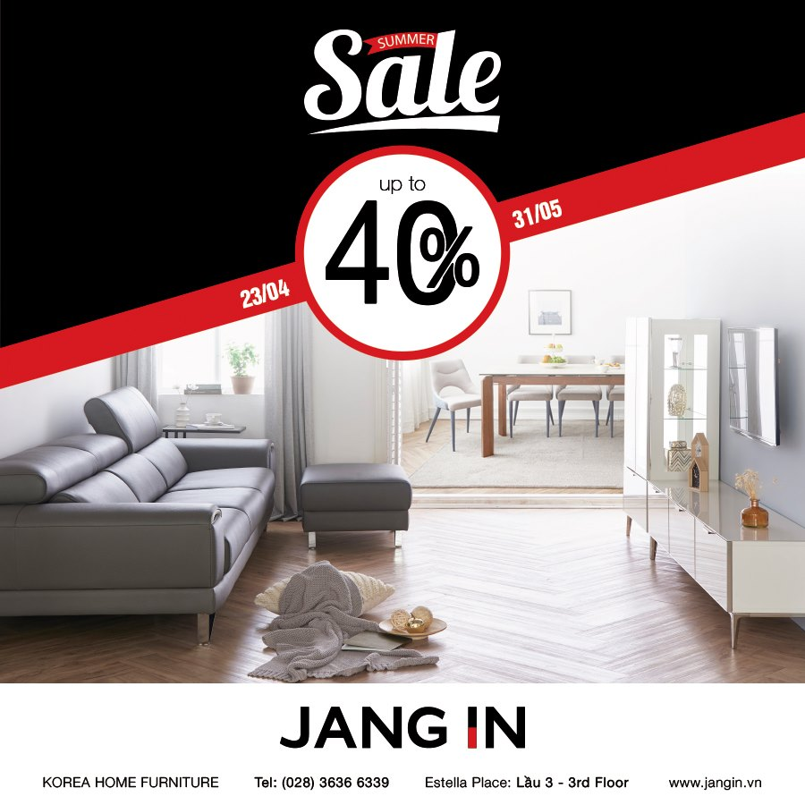 BIG SALE up to 40%