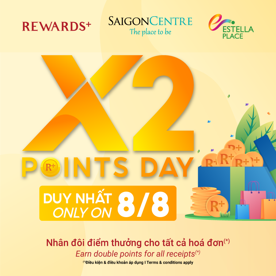 SPECIAL PROMOTION ON DOUBLE DAY