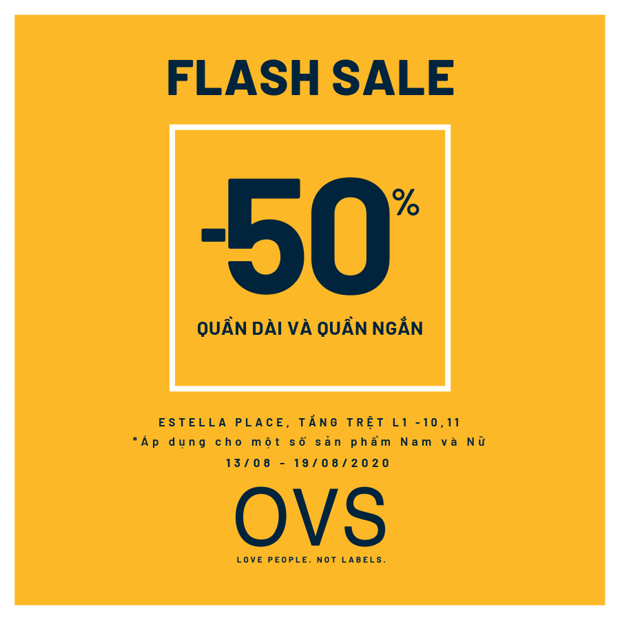 ‼ OVS FLASH SALE - 50% OFF FOR HOTTEST TROUSERS