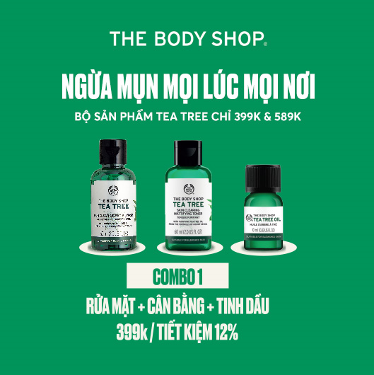 SALE PROMOTION IN AUGUST 2020 AT THE BODY SHOP STORES