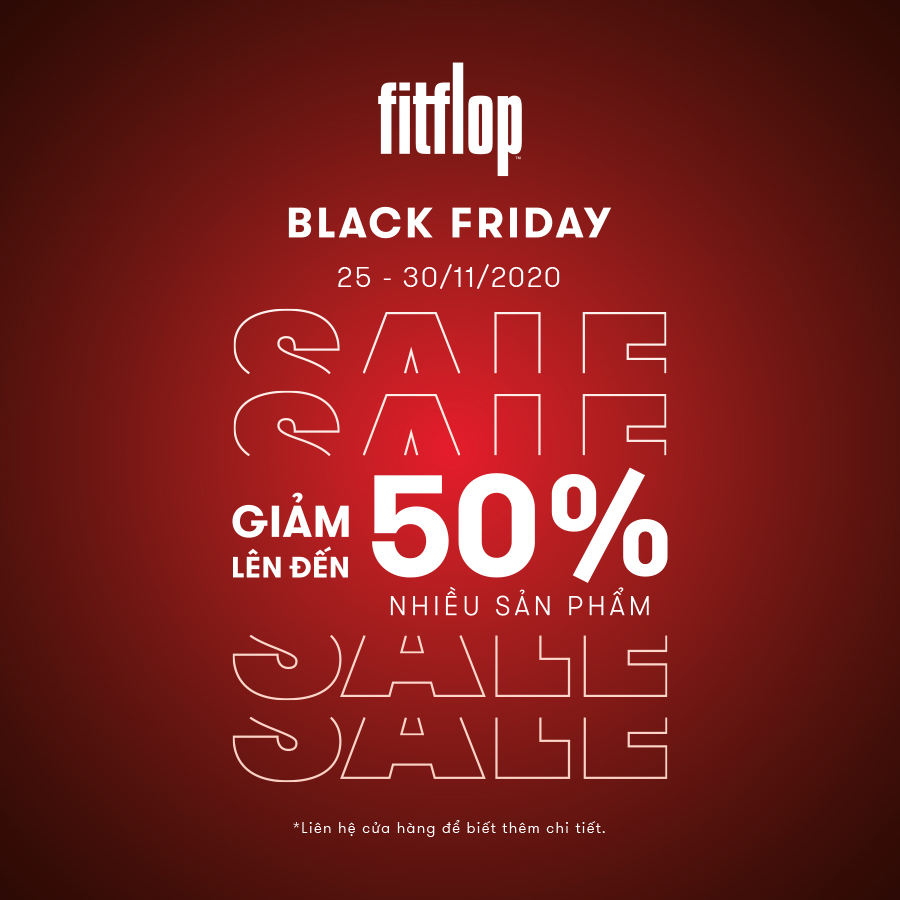 FITFLOP BLACK FRIDAY SALE UP TO 50%