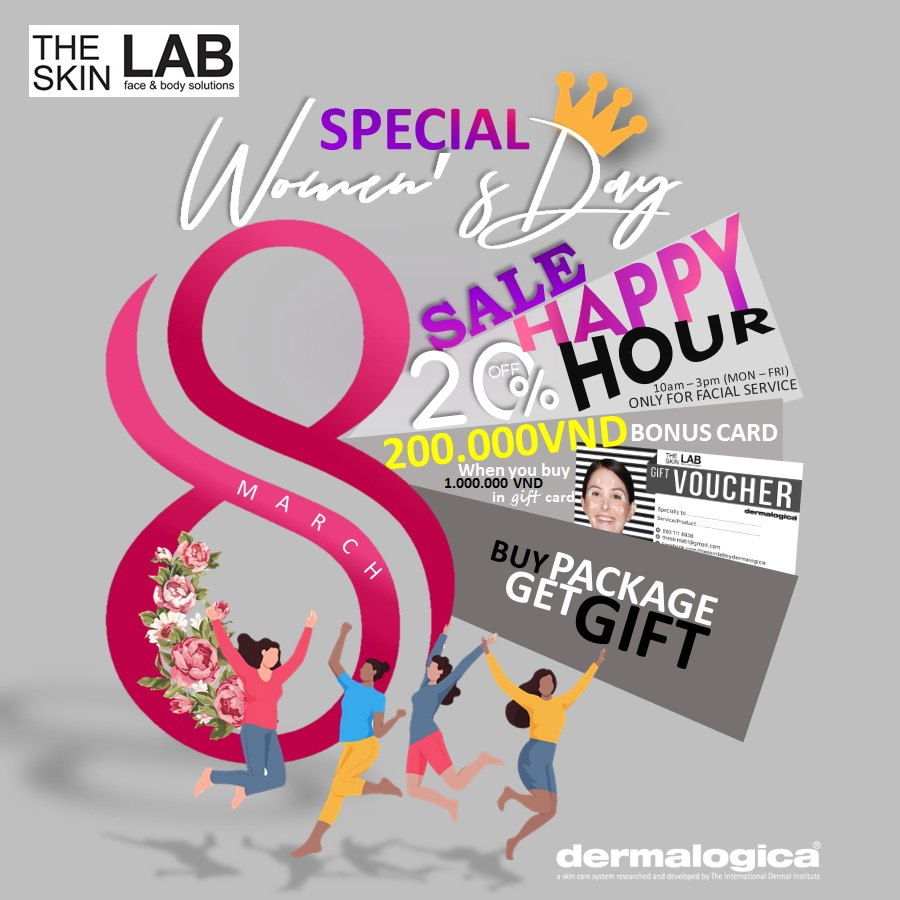 THE SKIN LAB SPECIAL WOMEN'S DAY SALE