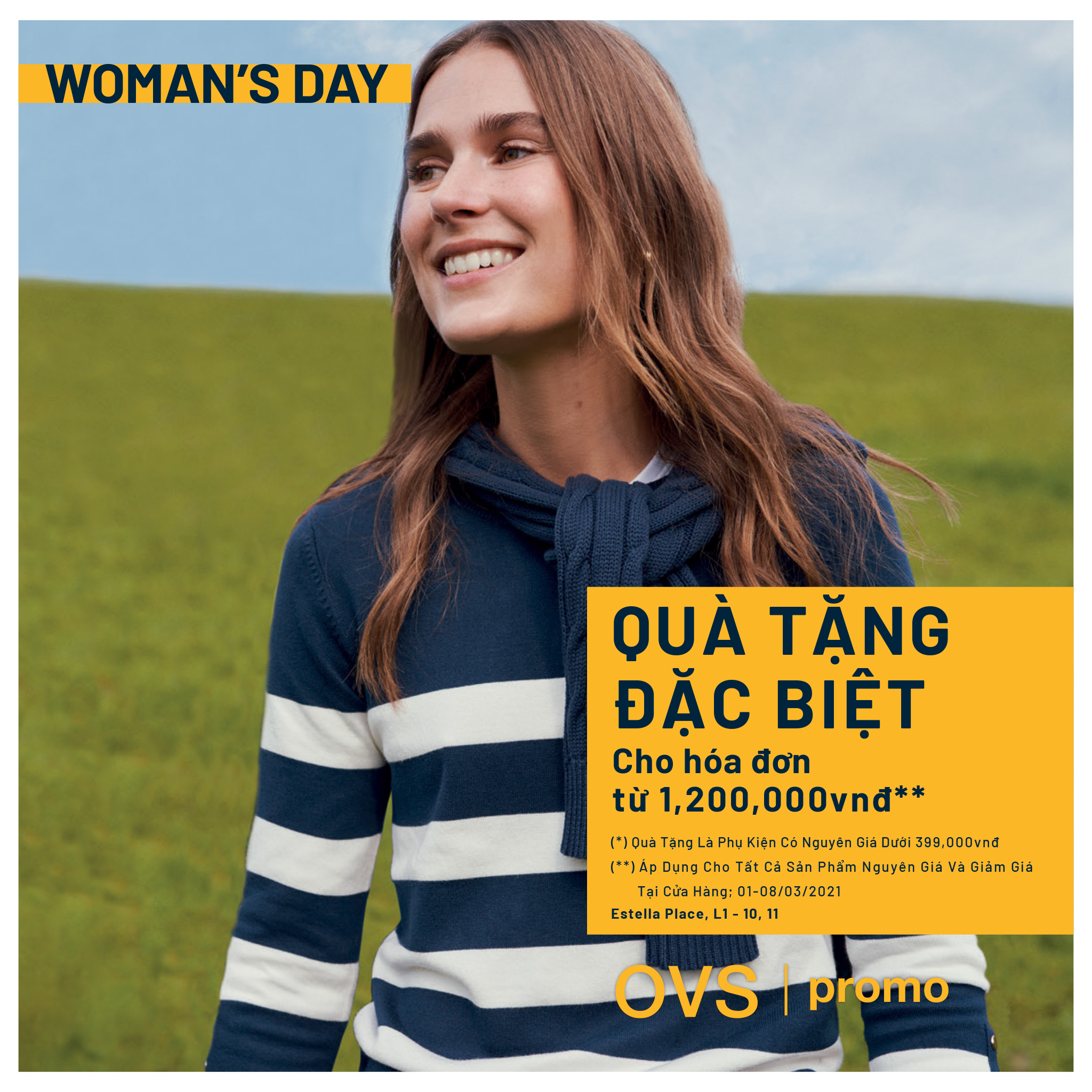 HAPPY WOMEN'S DAY FROM OVS