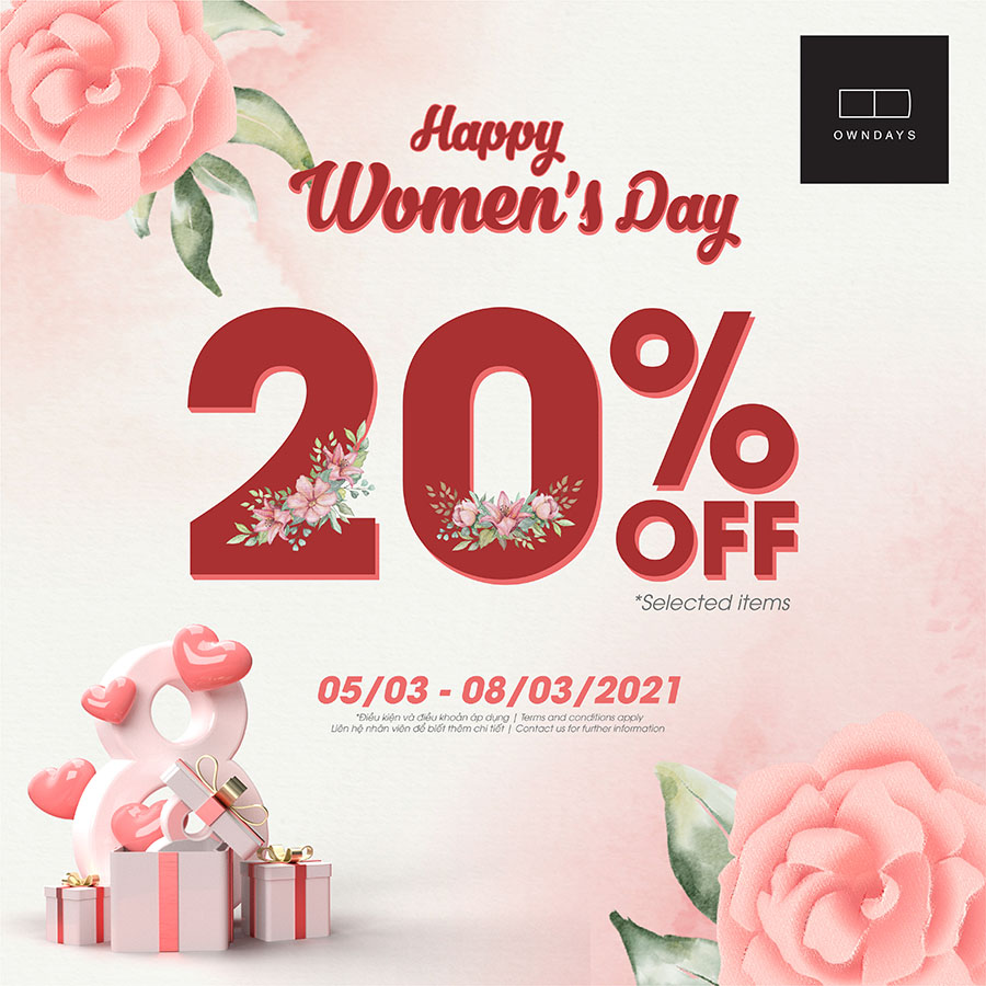Owndays Happy Women's Day