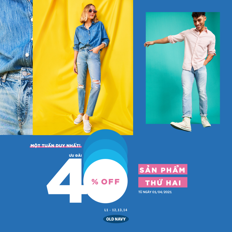 GET YOUR BEST OUTFIT GIẢM 40% CHO SẢN PHẨM THỨ 2