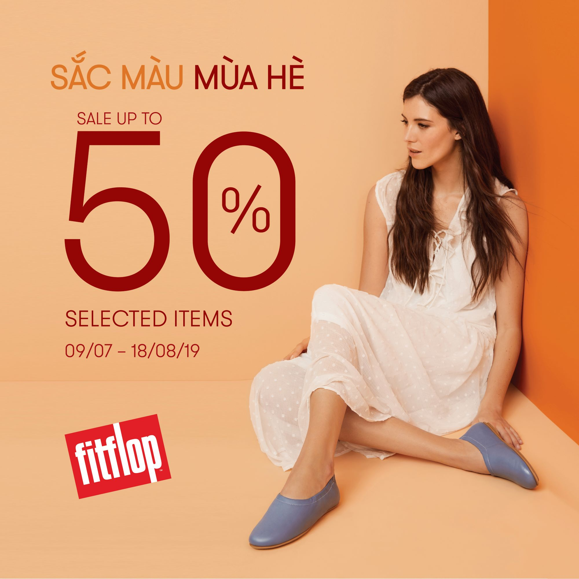 FITFLOP END OF SEASON SALE - DISCOUNT UP TO 50% AT ESTELLA PLACE