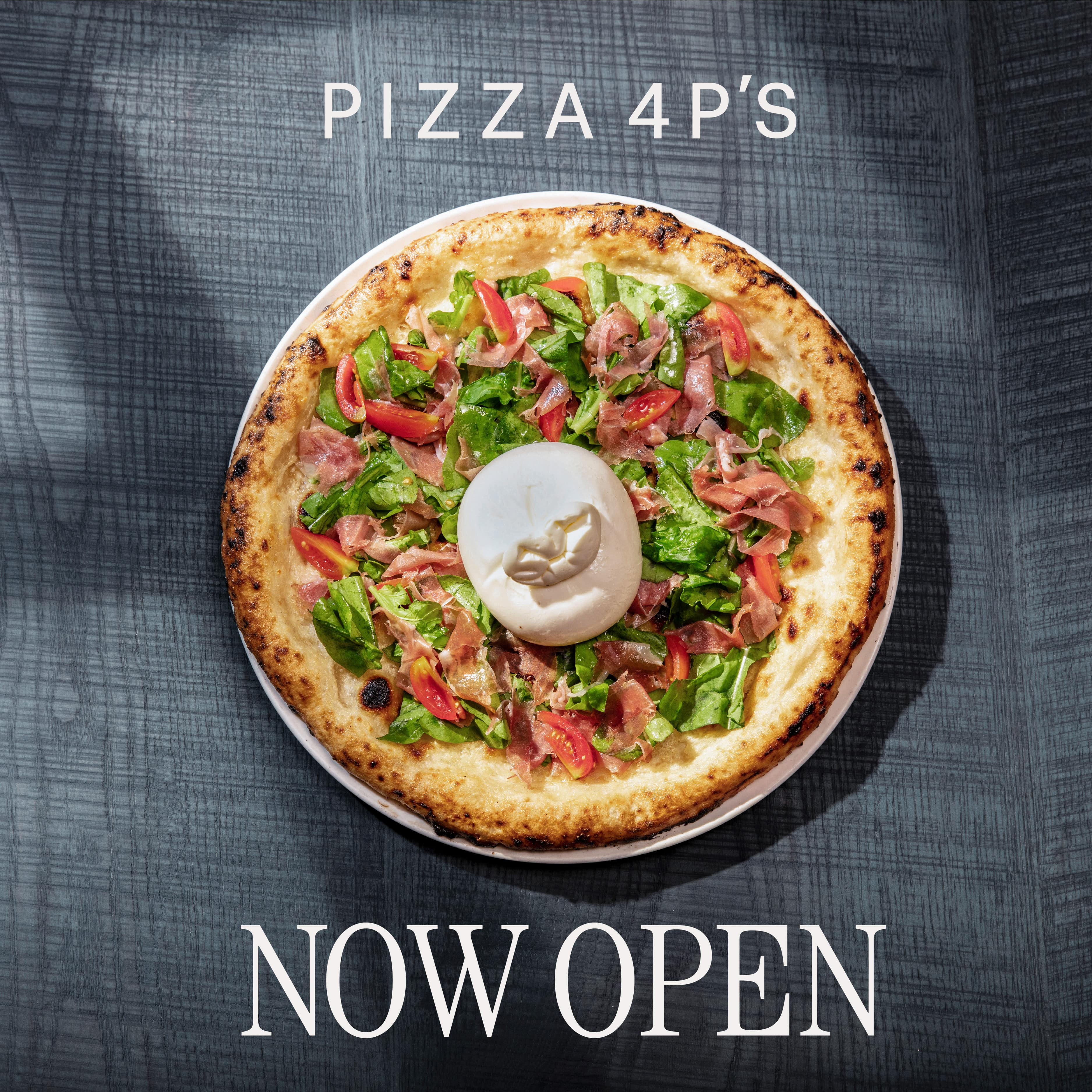 PIZZA 4P'S OFFICIALLY OPEN AT 5TH FLOOR - ESTELLA PLACE