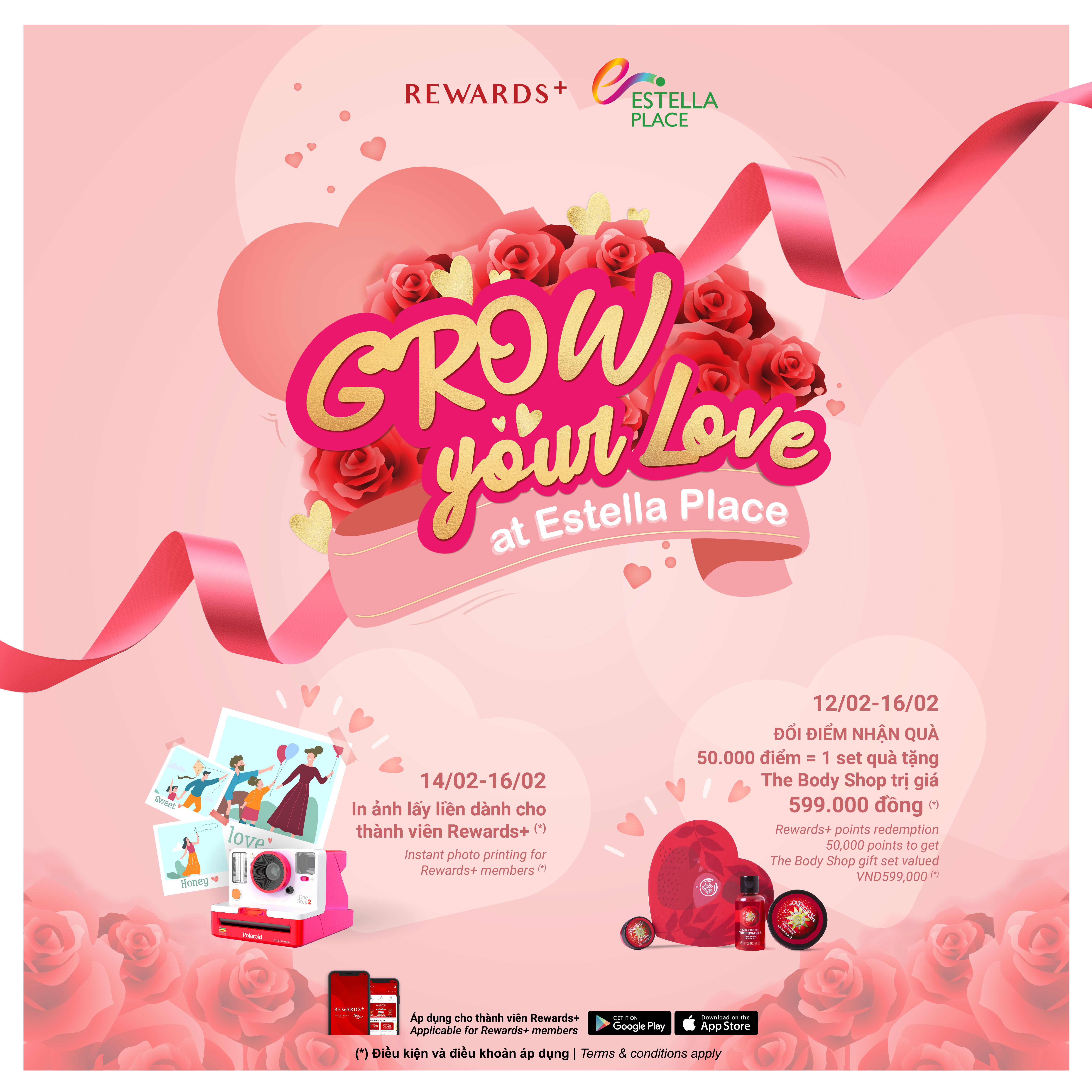 GROW YOUR LOVE AT ESTELLA PLACE